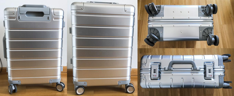 "Xiaomi 20"" Aluminium Suitcase after 1st trip"