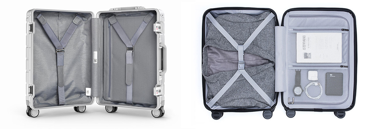 "Xiaomi 20"" metal suitcase vs Xiaomi 20"" Business suitcase"