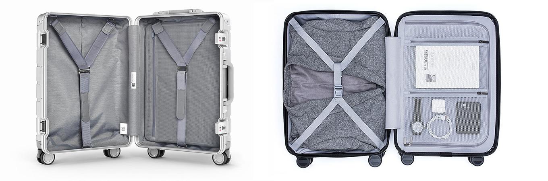 "Xiaomi 20"" metal suitcase vs Xiaomi 20"" Business suitcase"