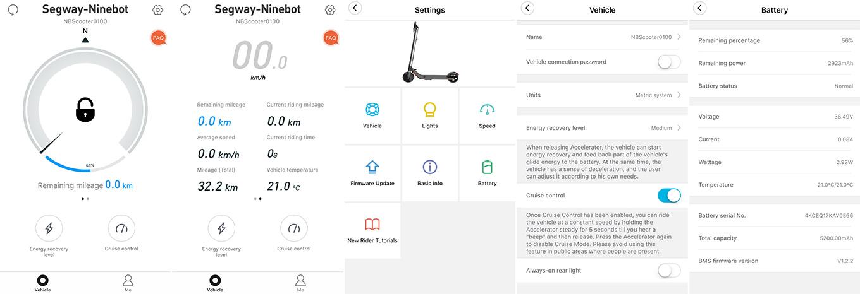 Segway-Ninebot App for KickScooter ES2