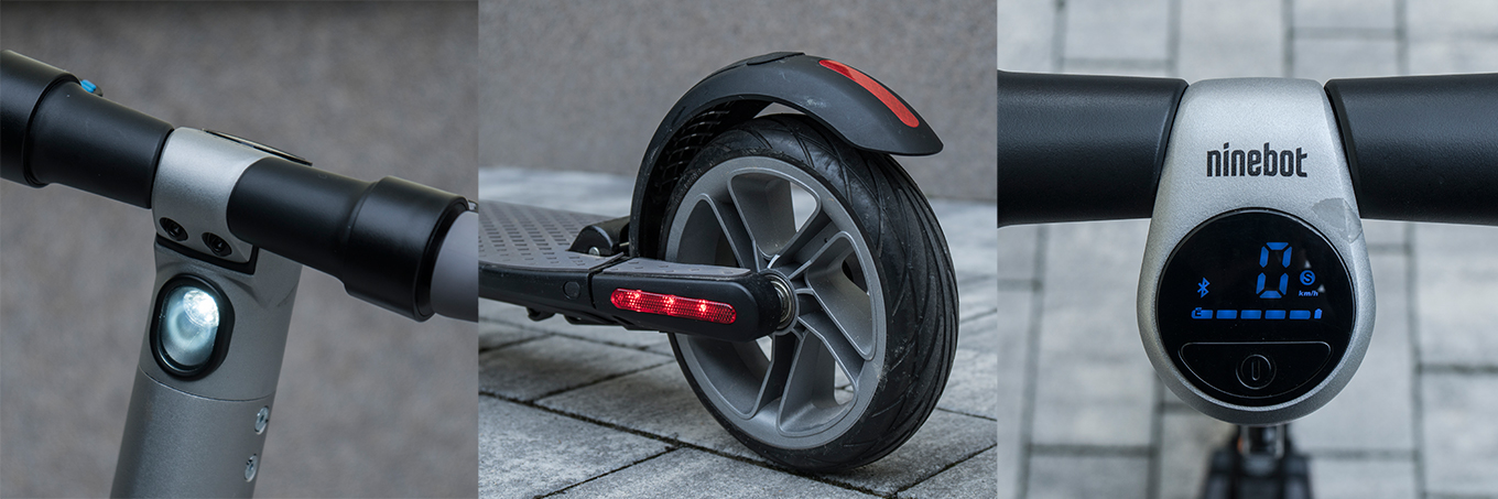 Segway Ninebot ES2 - LEDs & Display