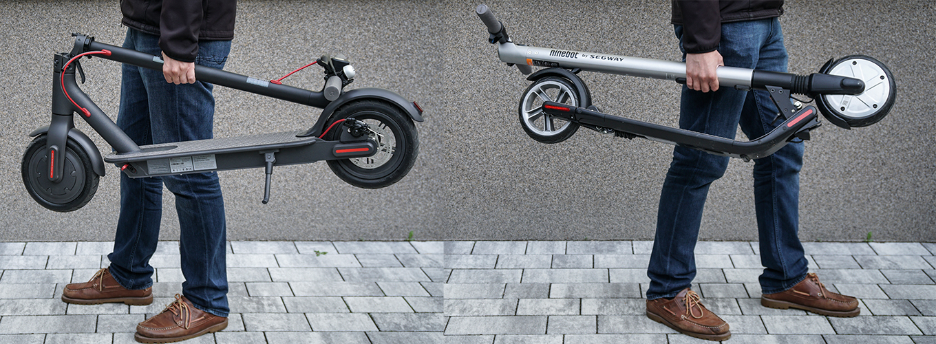 Xiaomi M365 Scooter Vs Ninebot Es2 Comparison Review Elproducente Com Travel