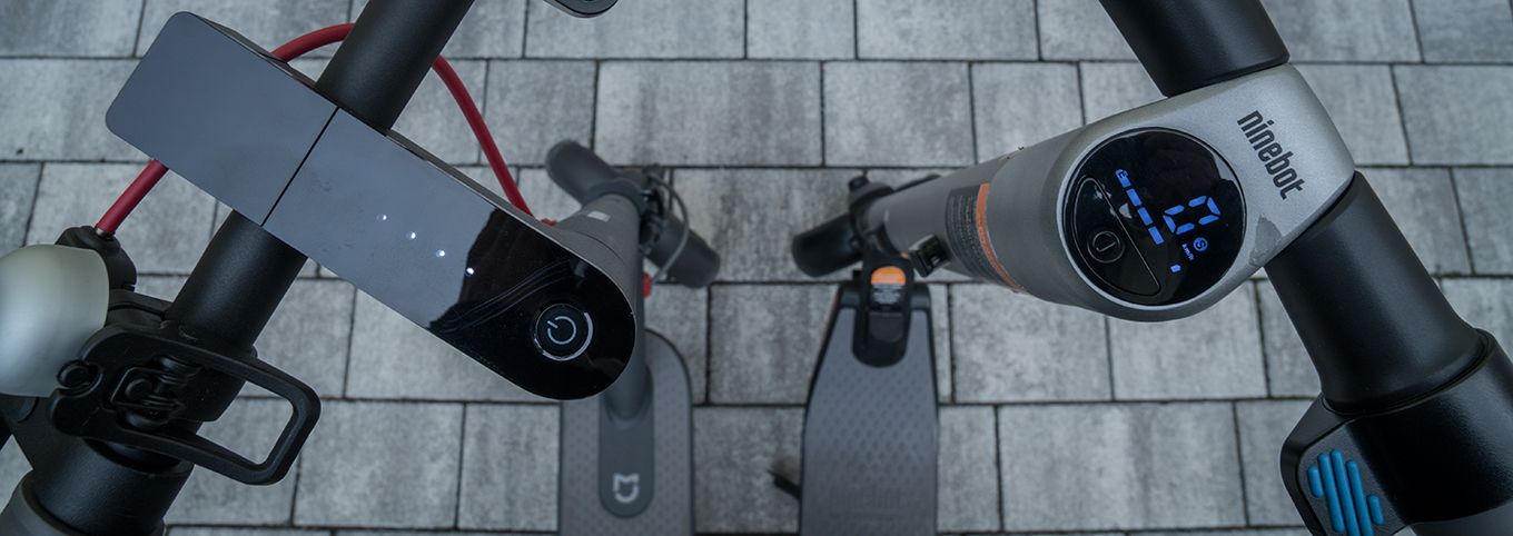 Xiaomi M365 Scooter vs Segway Ninebot ES2 - Display