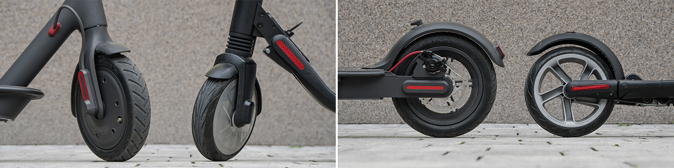 Xiaomi Scooter M365 vs Ninebot ES2 - Tyres & Suspension