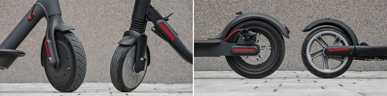 Xiaomi Scooter M365 vs Ninebot ES2 - Tyres & Suspension