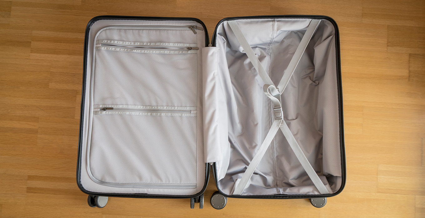 "24"" Xiaomi Suitcase - Compartments"
