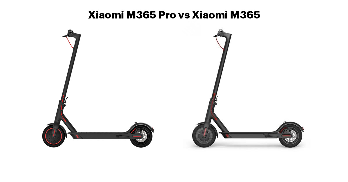 Xiaomi Scooter PRO vs Xiaomi M365 - Comparison Review