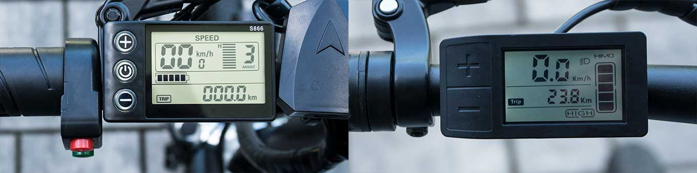 ADO A20 vs Himo Z20 - Display, Drive Mode, Settings, Manual