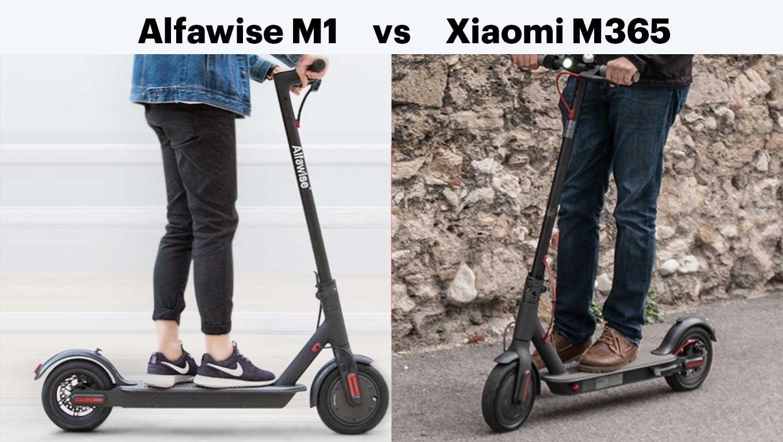 Alfawise M1 - a cheaper alternative to Xiaomi M365