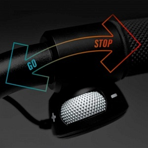 Boosted Rev - acceleration and brake lever