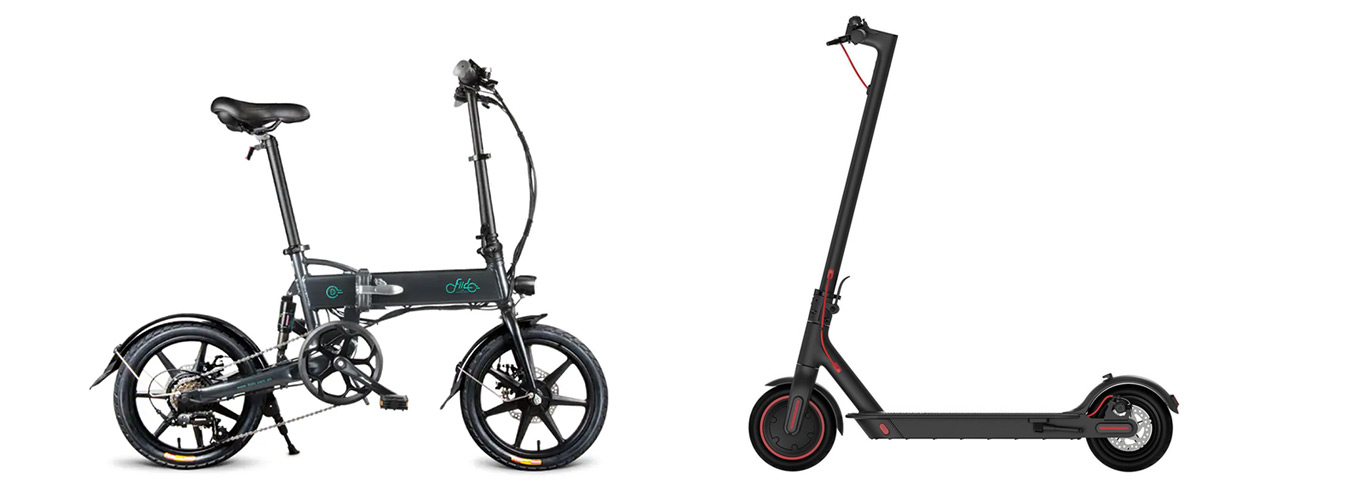 e-bike or e-Scooter? FIIDO D2 vs Xiaomi Scooter Pro