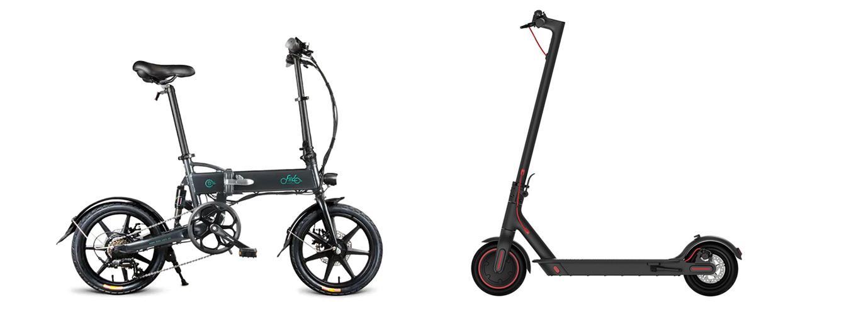 e-bike or e-Scooter? FIIDO D2 vs Xiaomi Scooter Pro