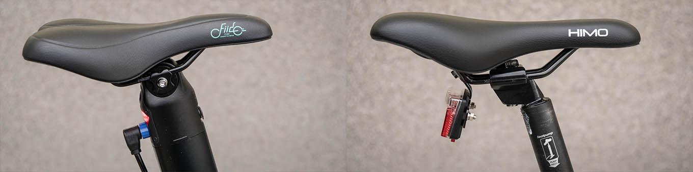 Fiido D11 vs Himo Z20 vs Fiido D4s comparison review- Saddle