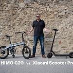Folding e-Bike or e-Scooter? Xiaomi Scooter Pro vs Himo C20