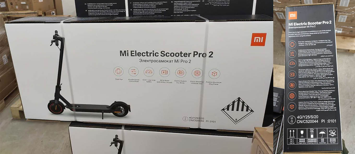 Xiaomi Scooter Pro 2 (Mi Electric Scooter Pro 2) Specs