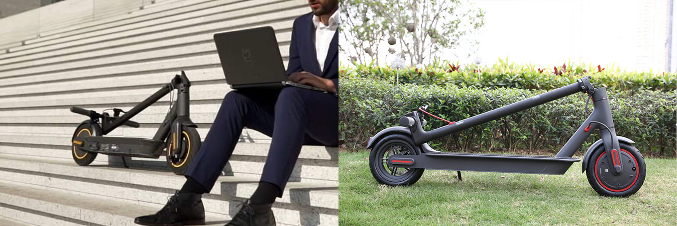 Ninebot Max vs Xiaomi Scooter Pro M365 - Folding Mechanism
