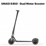 Unagi E450 dual motor e-scooter – Preview