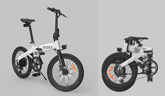 Xiaomi Himo Z20 Preview folding e-bike
