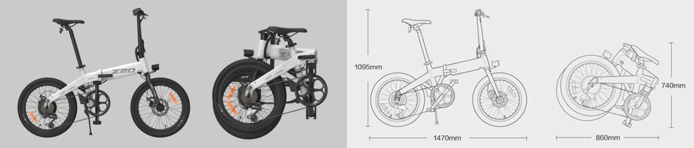 Xiaomi Himo Z20 - Folding Mechanism