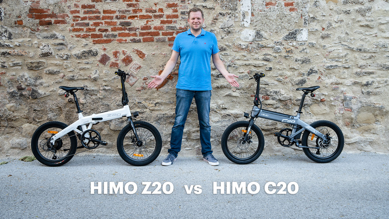 Xiaomi Himo Z20 vs Himo C20 Comparison Review