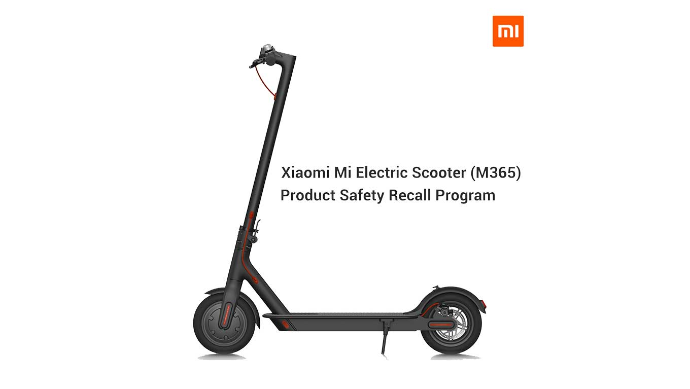 Xiaomi M365 Recall - Important Safety Warning