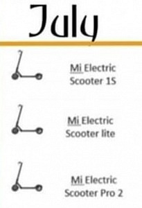 Xiaomi Mi Electric Scooter 1S - Xiaomi Mi Electric Scooter Lite - Xiaomi Mi Electric Scooter Pro2