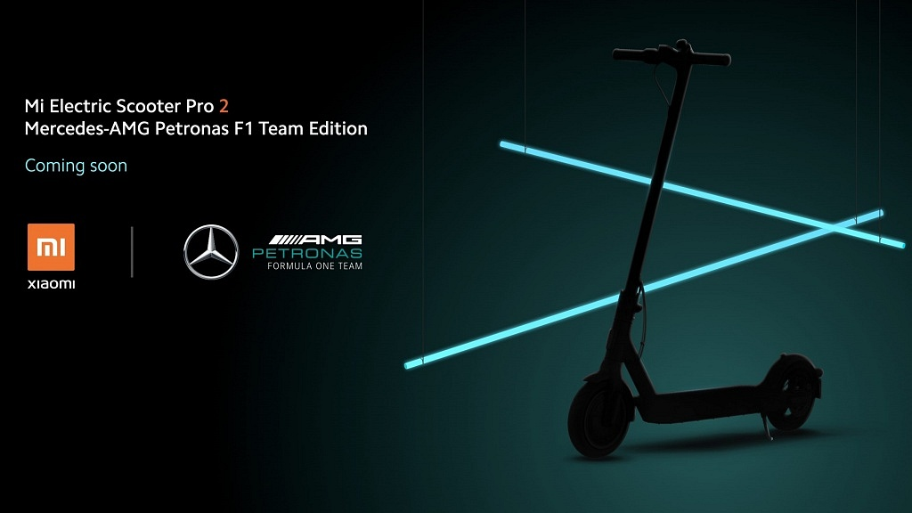 Mi Electric Scooter Pro 2 - Mercedes-AMG F1 Team Edition
