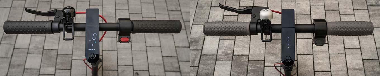 Xiaomi Scooter Pro vs Xiaomi M365 - Handlebar