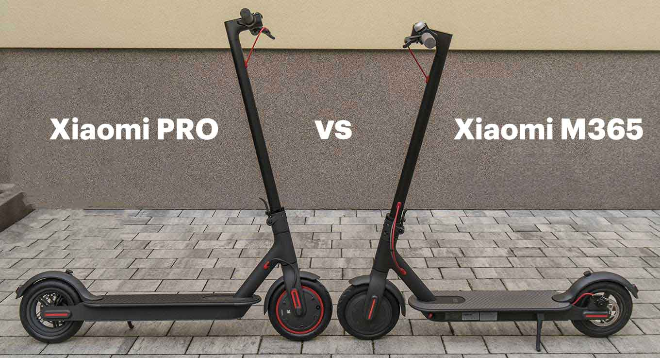 Xiaomi Scooter Pro Vs Xiaomi M365 Comparison Review Elproducente Com Travel