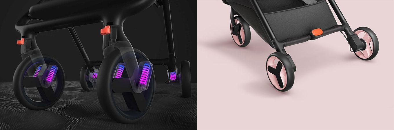 Xiaomi Stroller Buggy Brakes & Wheels