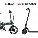Folding e-Bike or e-Scooter? FIIDO D2 vs Xiaomi Scooter Pro
