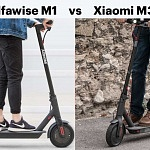 Alfawise M1 vs Xiaomi M365 Scooter – Comparison